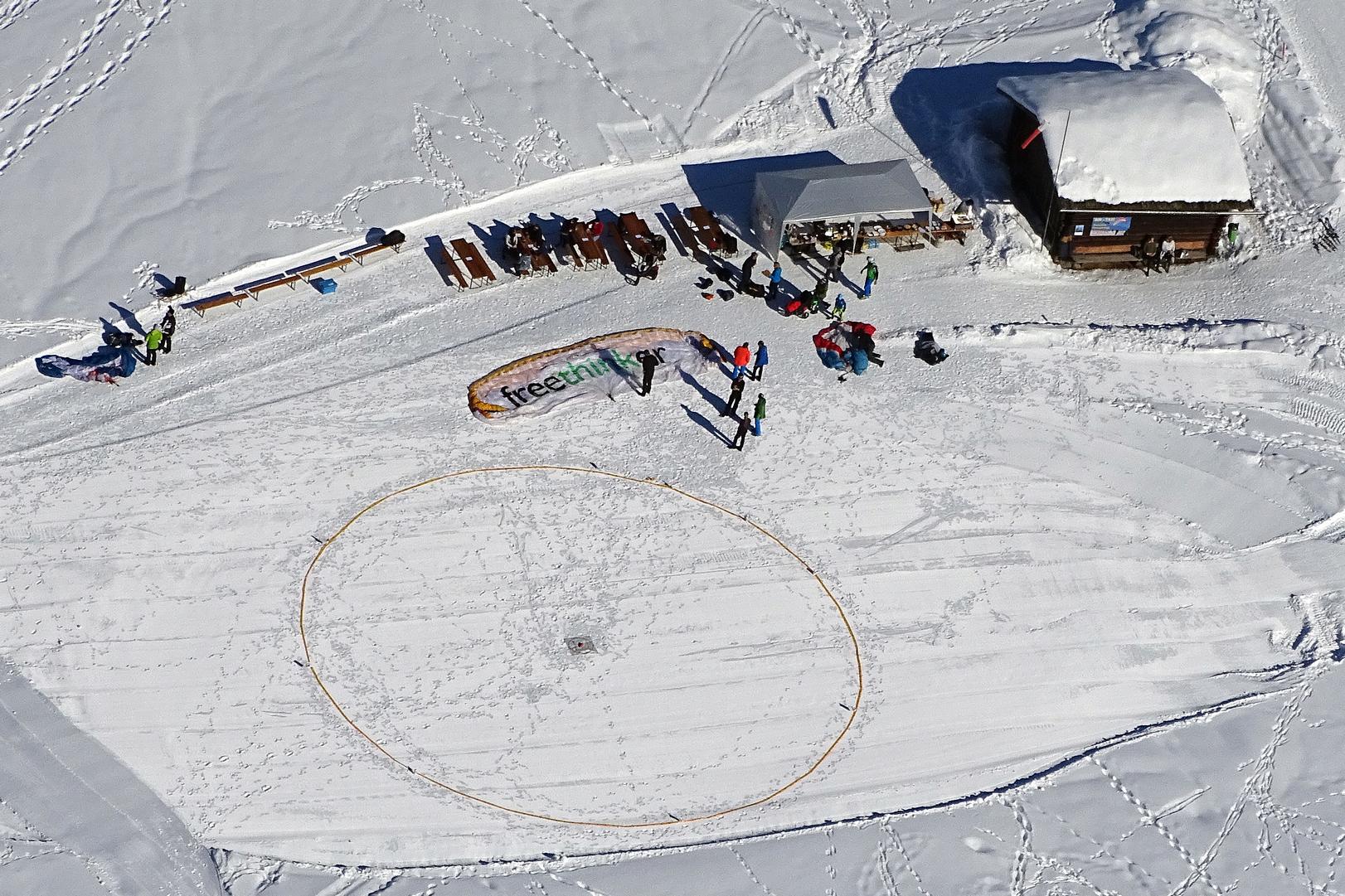 Landeplatz Paraschi 2019