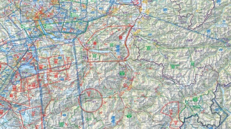 Segelflugkarte CH